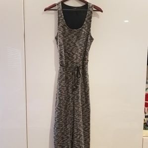 Sanctuary Maxi Dress in black and White